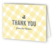 B(A)B(Y)Q Baby Shower Thank You Cards
