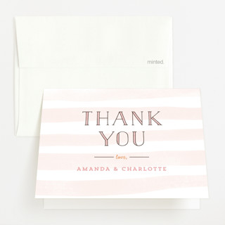 Petite Meet & Greet Baby Shower Thank You Cards