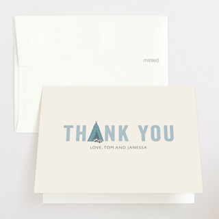 Little Scout Baby Shower Thank You Cards