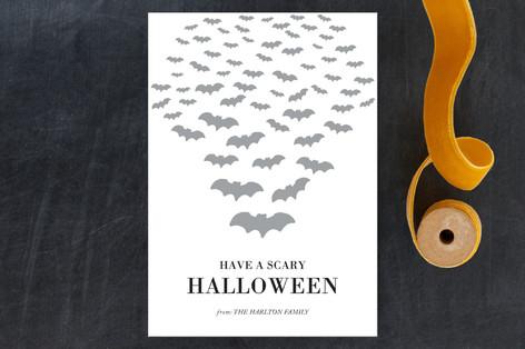 Scary Bats Halloween Petite Cards