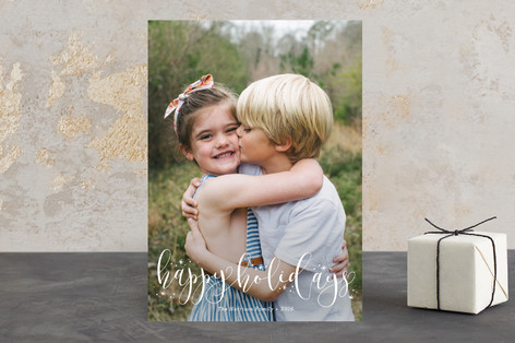 Festive Holiday Photo Cards