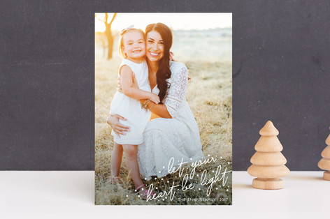 Light Hearted Holiday Photo Cards