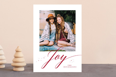 Bliss Holiday Photo Cards