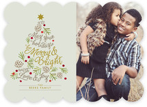 Be Merry and Bright Holiday Photo Cards