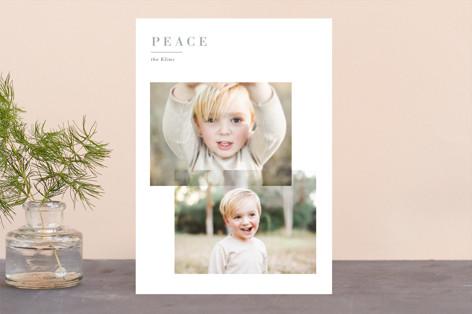 Editorial Joy Holiday Photo Cards