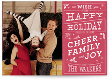 Christmas Cafe Holiday Photo Cards