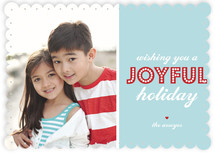 Another Card About Joy Holiday Photo Cards