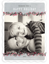 Canvas Garland Holiday Photo Cards