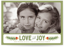 Cedar and Berries Holiday Photo Cards