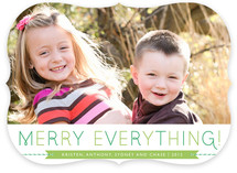 Banner and Twine Holiday Photo Cards