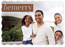 Pure Merriment Holiday Photo Cards