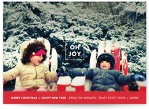 Joy in the Box Holiday Photo Cards