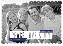 Joy to the World Holiday Photo Cards