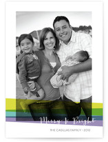 Bright Holidays Holiday Photo Cards