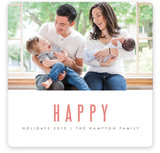 We&#039;re Happy Holiday Photo Cards