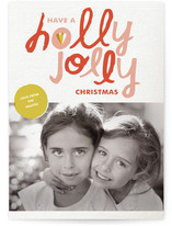 Hollygram Holiday Photo Cards