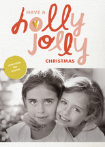 Hollygram Holiday Photo Cards By Maddy Nye