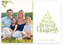 Ombre Holiday Photo Cards
