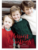 Merriest Holiday Photo Cards
