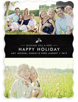 Splendid Pinecone Holiday Photo Cards