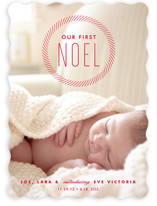 Our First Noel Holiday Photo Cards