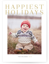 Grand Holiday Photo Cards