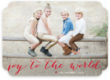 Simple Joy Holiday Photo Cards