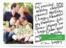 All of the Above Holiday Photo Cards