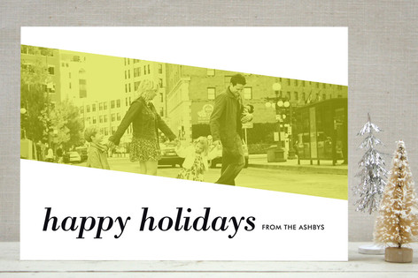 merry modern holiday photo cards - Modern Holiday Cards