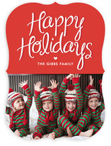 Happy Heart Holiday Photo Cards