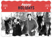 Cool Couple Holiday Photo Cards