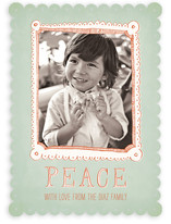 Free Hand Frame Holiday Photo Cards