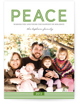 Wishing for Peace Holiday Photo Cards