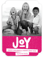 Standout Joy Holiday Photo Cards
