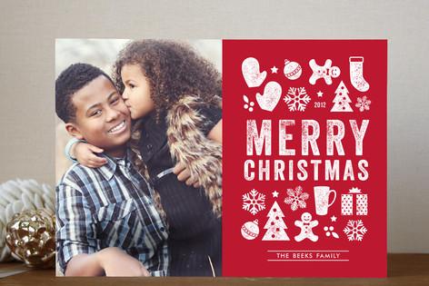 Christmas Dingbats Holiday Photo Cards