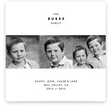 Simplest Form Holiday Photo Cards