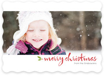 Panorama Holiday Photo Cards