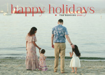 Timeless Greeting Holiday Photo Cards By Alston Wise