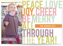 All Year Long Holiday Photo Cards