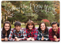 Whimsy Wishes Holiday Photo Cards