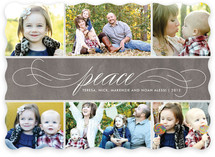 Sending Peace Holiday Photo Cards