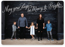 Bright Elegance Holiday Photo Cards