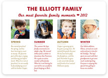 Favorite Moments Holiday Photo Cards