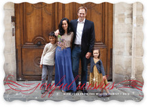 Joyful Wishes Holiday Photo Cards