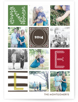 Quilted Holiday Photo Cards