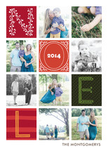Quilted Holiday Photo Cards By Griffinbell Studio