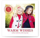 Santa Seal Holiday Photo Cards