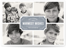 Classic Quartet Holiday Photo Cards