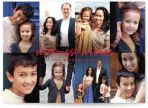 Photomontage Holiday Photo Cards
