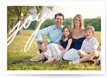 Light-Hearted Joy Holiday Photo Cards
